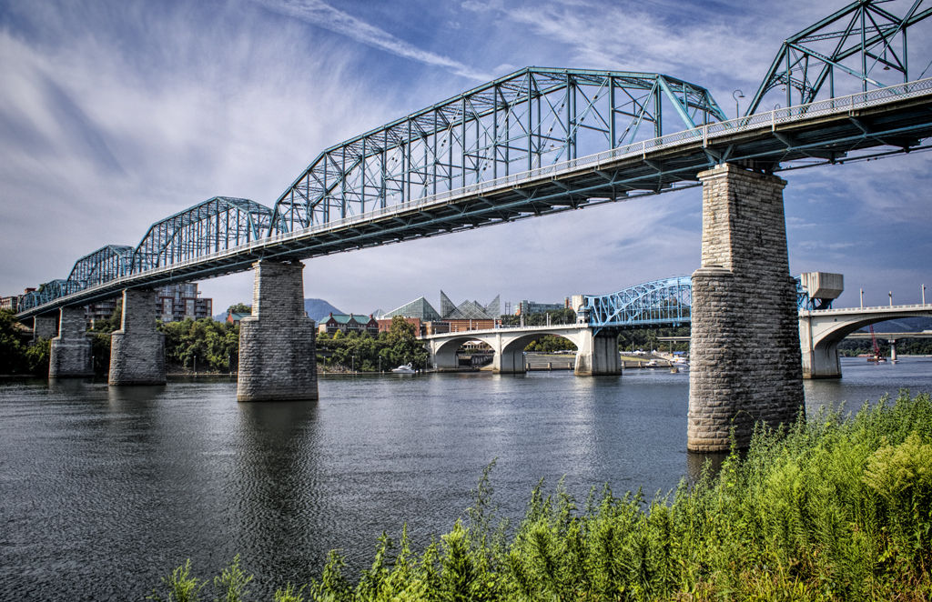 The Walnut Street Bridge