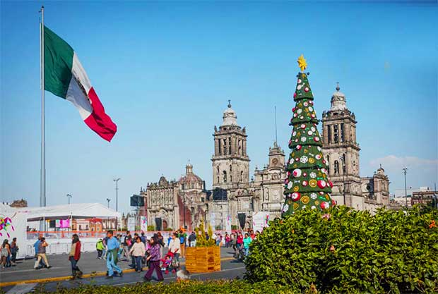 Christmas Day in Mexico.
