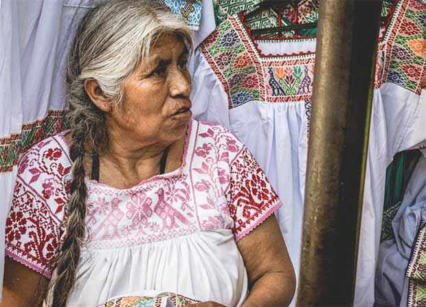 Mexican Woman.