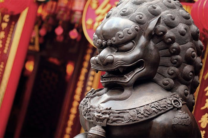 Foo Dogs Are Chinese Guard Lions